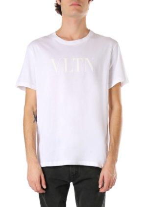 Valentino Vltn Cotton Jersey T-shirt