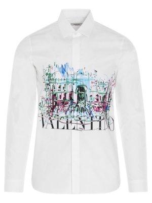 Valentino roman Sketch Shirt