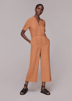 Whistles Women Amee Relaxed Jumpsuit
