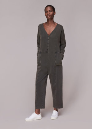 Whistles Women India Washed Jersey Jumpsuit