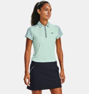 Women's UA Zinger Zip Short-Sleeve Polo