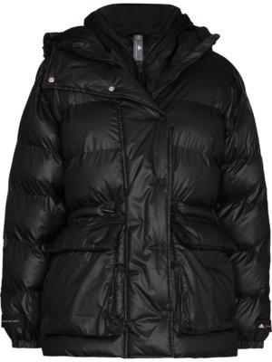 adidas by Stella McCartney two-in-one puffer jacket - Black