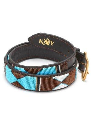 Beaded Belt - Mwezi (WIDE) Belts Koy Clothing