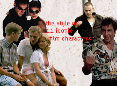 We recreated the style of 11 iconic film characters