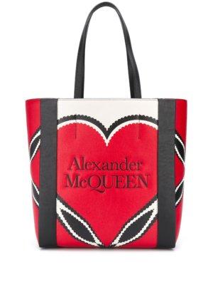 Alexander McQueen Signature tote bag - Red