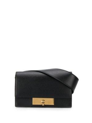 Alexander McQueen Skull Lock belt bag - Black