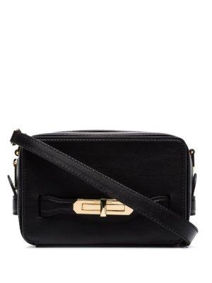 Alexander McQueen lock camera bag - Black