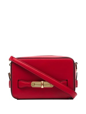 Alexander McQueen small The Myth camera bag - Red