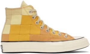 Converse Beige & Orange Plant Color Chuck 70 Sneakers