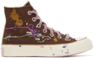 Converse Brown Bandulu Edition Chuck 70 High Sneakers