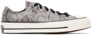 Converse Grey Snake Chuck 70 Ox Sneakers