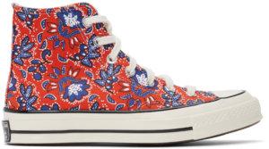 Converse Red Culture Prints Chuck 70 Hi Sneakers