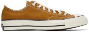 Converse Tan Chuck 70 OX Sneakers