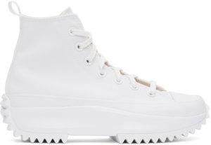Converse White Run Star Hike High Sneakers