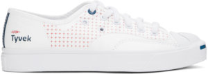 Converse White Tyvek® Jack Purcell Rally Low Sneakers
