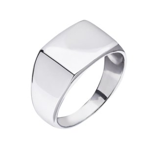 Kaizarin - Mens Signet Ring In Sterling Silver