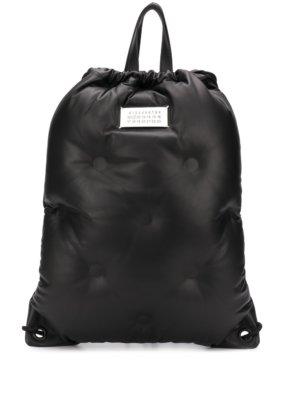 Maison Margiela Glam Slam drawstring backpack - Black
