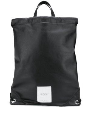 Maison Margiela Zero Impact backpack - Black