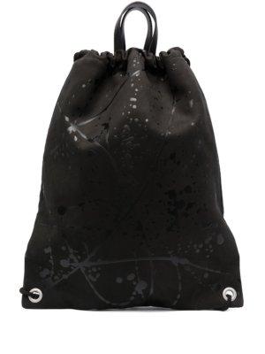 Maison Margiela drawstring backpack - Black