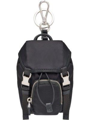 Prada backpack key trick - Black