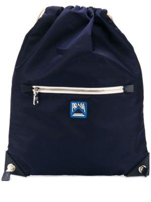 Prada drawstring backpack - Blue