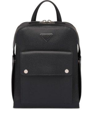Prada leather backpack - Black