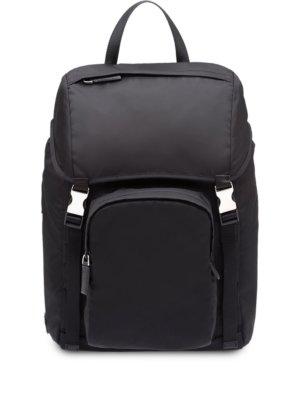 Prada nylon backpack - Black