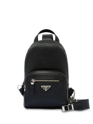 Prada one-shoulder backpack - Black