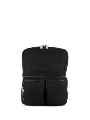 Prada utility pocket backpack - Black