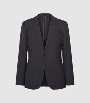 Reiss Wash - Washable Slim Fit Blazer in Navy, Mens, Size 36