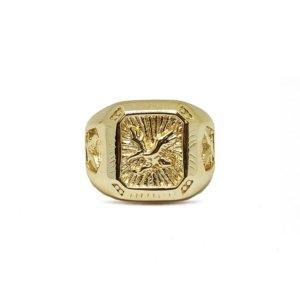 Serge DeNimes - Gold Eagle Ring