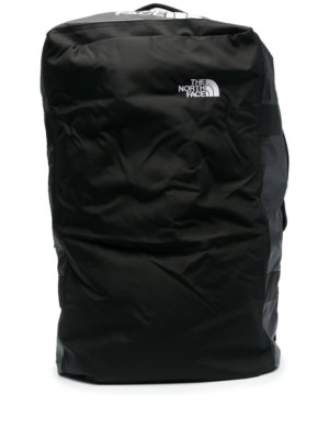 The North Face embroidered logo large backpack - Black