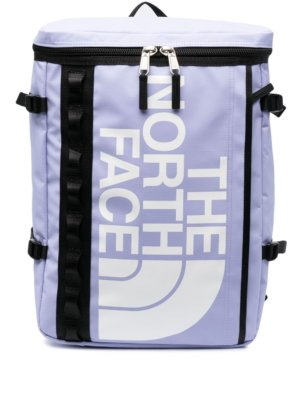 The North Face logo-print backpack - Purple