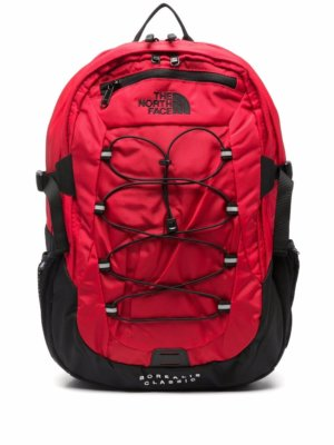 The North Face zip-up logo-print backpack - Black
