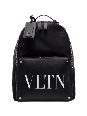 Valentino Garavani VLTN Rockstud detail backpack - Black
