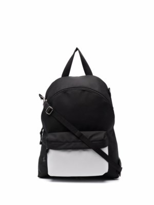 Valentino Garavani two-tone backpack - Black